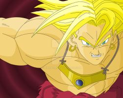Request : Broly by RinskeR