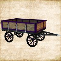 Shiny New Wagon by Just-A-Little-Knotty