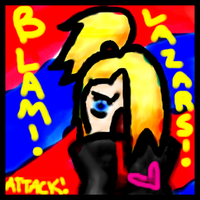 Deidara... ATTACK by XDeiDei-chan