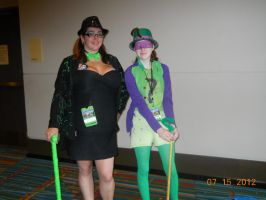 The Two Female Riddlers by PsychoBabble192