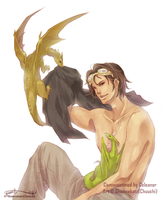:Celeanor: Gh'lan by Chuuchichu