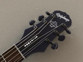 Epiphone Gothic SG Head by AndyBuck