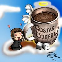 Costas Coffee Remastered by DavidUnwin