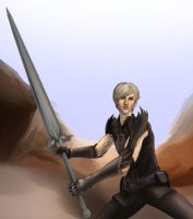 Fenris again by SargeCrys