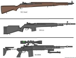 M1 Rifle to M14EBR by Marksman104