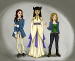 Com: Gaile, Linandra, Erina from their novels by Maeix2
