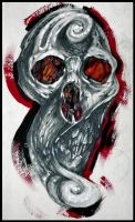 Cutom skull by DarkArtsColective