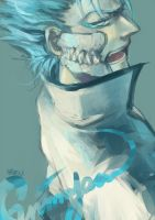 Grimmjow by coralstone