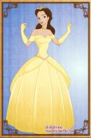 Princess Belle by PinkPetalEntrance