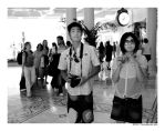 asian tourists in las vegas... by cweeks