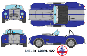 Shelby Cobra 427 by bagera3005