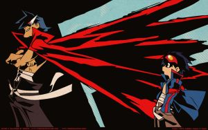 TTGL - Kamina and Simon by Dradise
