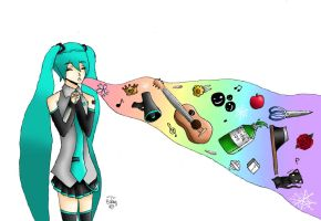 Miku: Storytelling Songs by MassacredStrawberry