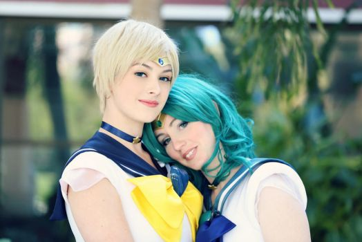 :SM: Sky and Sea by AlouetteCosplay