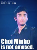 Minho Not Amused. by FlawlessInnoncence