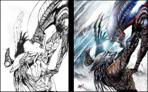 Carrying on with the Aleins and Predator Legacy ! by Trustkill-Jonathan