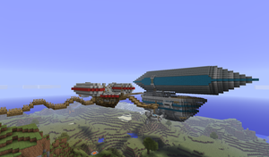 More airships by natekillswithskillz