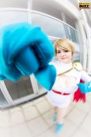 Powergirl by Paper-Cube
