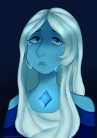 [Blue Diamond] by OtakuKitsuneArt