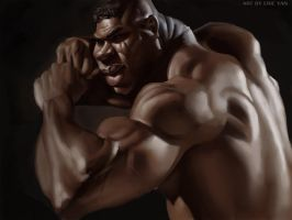 Alistair Overeem by VisHuS702