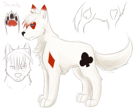 Character reference: Shards by Midoromi