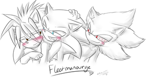 .:Sonic:. Fleetmanourge by SilverfanNumberONE