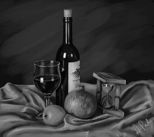 Still Life 02 BnW by designjit