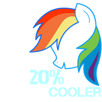 MLP 20 percent Cooler T-shirt by neverfood