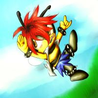 :sonic oc: Charly Bee by Jazz-M-Ink