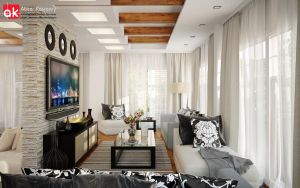 D villa ground floor living 3 by kasrawy
