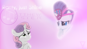 [Cover Art] Rarity, Just Shine by Vexx3