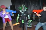 Tresh being shooted by zombie duo! :) by FalaGiu92