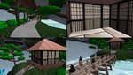 MMD Park Tea-house Stage by mbarnesMMD