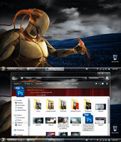 My current desktop - May,30,2012. Windows 7 by Draco23hack