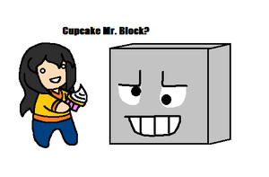 Mr. Art Block by BubblySkies