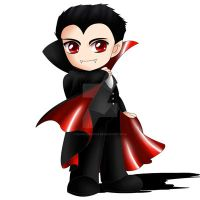 Dracula Chibi by ExoroDesigns