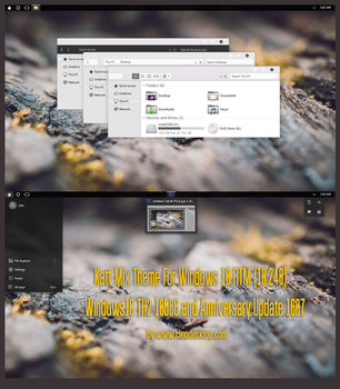 Katt Mix Theme Win10 Anniversary Update1 by Cleodesktop