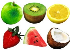 Fruitsalad Dock Icons by FreeIconsFinder