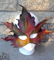 Maple Leaf Mask by Spyder75