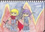 Flames of the Heroes by asheXbalthier