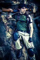 Chris Redfield Photoshoot 1 by LON3LYPRINCE86