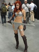Red Sonja by zepherus2k