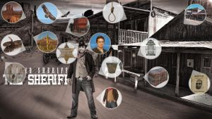 ''The Sheriff'' Photomanipulation Stocks by Hamdan-Graphics