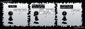 FTTC: Schizophrenic by simpleCOMICS