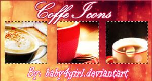 Coffee Icons by Baby4Girl