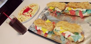 Eclair and Candy Sub Sandwich by TillLifeDoUsPart