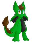 Gift Spree Day 2: Green Drgn by DuskyUmbreon