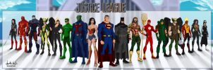 Justice League Live (Movie-CW)Vol2 (YoungJustice) by dark-BuB