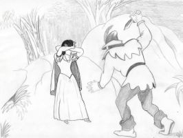 Snow White and the hunter by Angels-Pixie-D