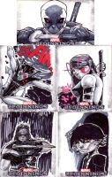 marvel beginnings 3 sketch cards 1 by CRISTIAN-SANTOS